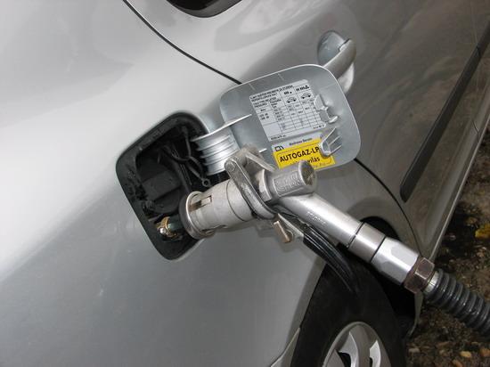 LPG autógáz töltés